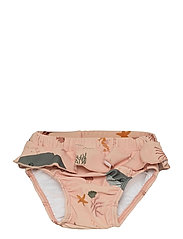 Elise baby swim pants - SEA CREATURE ROSE MIX