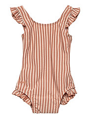 Tanna swimsuit seersucker - Y/D STRIPE