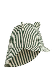 Gorm sun hat - Y/D STRIPE