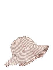 Amelia sun hat - Y/D STRIPE