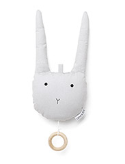 Alma music mobile rabbit - RABBIT DUMBO GREY