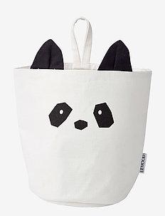 Ib fabric basket - PANDA CREME DE LA CREME