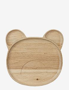Conrad wood plate - MR BEAR NATURAL