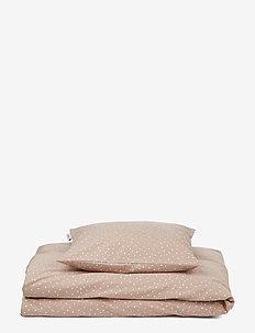 Carmen baby bedding print - literie et couvertures - confetti rose