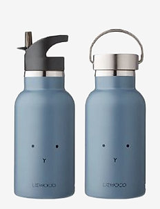 Anker water bottle - rabbit blue wave