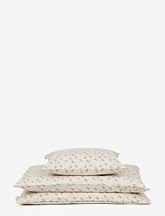 Ingeborg junior bedding print - FERN/ROSE