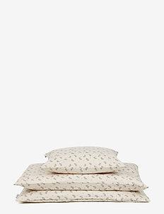 Carl adult bedding print - FERN/ROSE