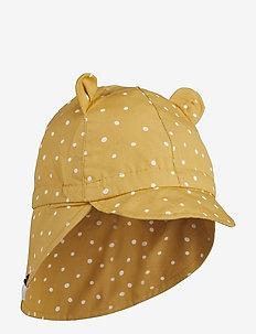Gorm sun hat - CONFETTI YELLOW MELLOW