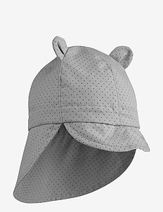 Gorm sun hat - solhat - little dot dumbo grey
