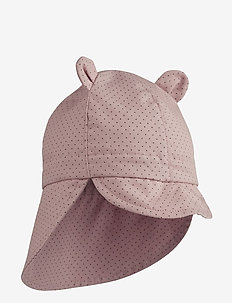 Gorm sun hat - solhat - little dot rose