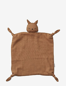 Agnete cuddle cloth - play time - cat terracotta