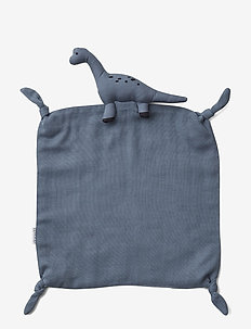 Agnete cuddle cloth - play time - dino blue wave
