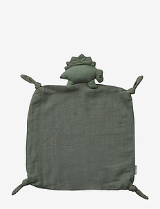 Agnete cuddle cloth - play time - dino faune green