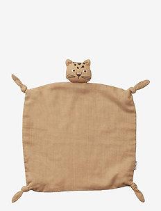 Agnete cuddle cloth - baby toys - leopard apricot