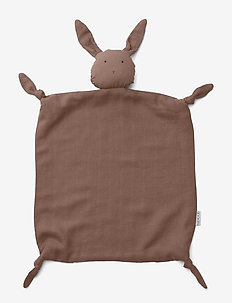 Agnete cuddle cloth - RABBIT DARK ROSE