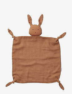 Agnete cuddle cloth - cuddle blankets - rabbit sienna