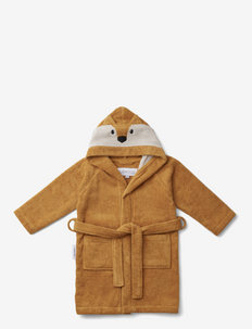 Lily bathrobe - bathrobes - fox mustard