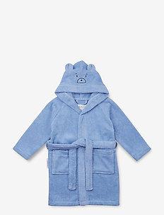 Lily bathrobe - natt- & undertøy - mr bear sky blue