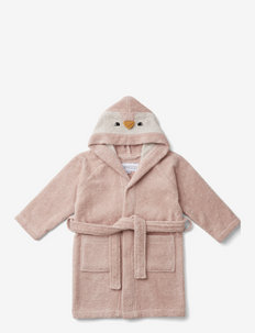 Lily bathrobe - bademäntel - penguin rose