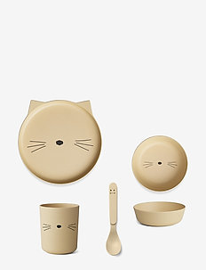 Bamboo box set - CAT SMOOTHIE YELLOW