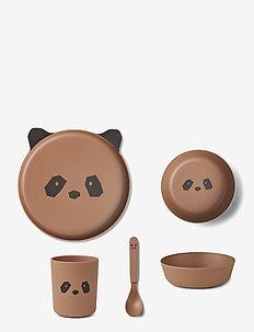 Bamboo box set - zestawy obiadowe - panda tuscany rose