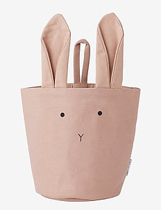 Ib fabric basket - RABBIT ROSE