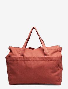 Melvin mommy bag - torby dziecięce - rusty