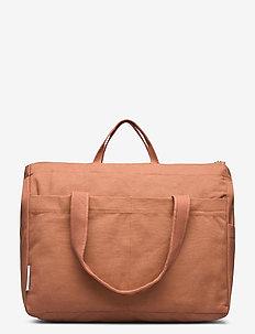 Melvin mommy bag - vaihdetaan laukkuja - terracotta