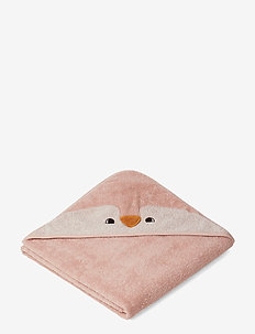Augusta hooded towel - tilbehør - penguin rose