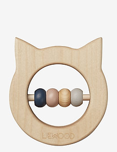 Ivalu wood teethers - cat natural