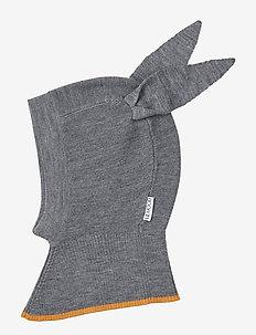 Sirius knit hat - hatter - rabbit grey melange