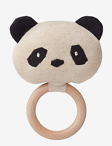 Aria rattle - PANDA BEIGE BEAUTY