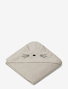 Albert Hooded Towel - CAT SANDY
