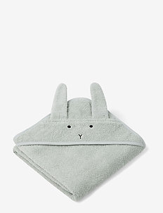 Albert Hooded Towel - ręczniki i szmatki - rabbit dusty mint