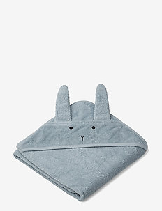 Albert hooded towel - akcesoria - rabbit sea blue