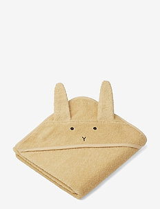 Albert Hooded Towel - RABBIT SMOOTHIE YELLOW