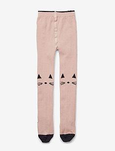 Silje wool stockings - strømpebukser - cat rose