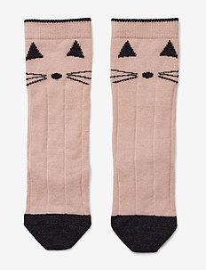 Sofia wool knee socks - sokker - cat rose