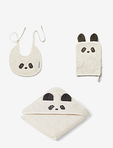 Adele terry baby package - gavesæt - panda creme de la creme