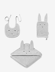 Adele terry baby package - accessoarer - rabbit dumbo grey