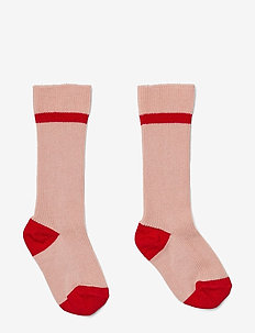Mia knee socks 2-pack - ROSE