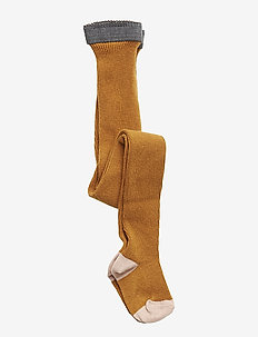 Linea stockings - rajstopy - mustard