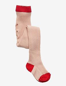 Linea stockings - strømpebukser - rose
