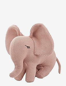 Dextor knit teddy - ELEPHANT ROSE