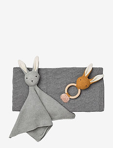 Petra baby knit package - GREY MELANGE