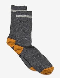 Valentin adult socks 1 pack - sokken - grey melange