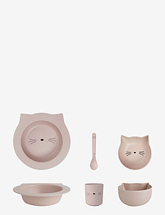 Barbara bamboo baby set - CAT ROSE