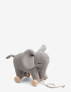 Dahlia teddy on wheels - ELEPHANT GREY MELANGE