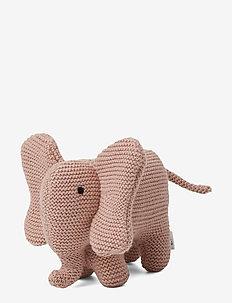 Vigga knit mini teddy - ELEPHANT ROSE