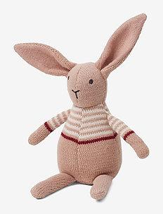 Vigga knit mini teddy - RABBIT ROSE